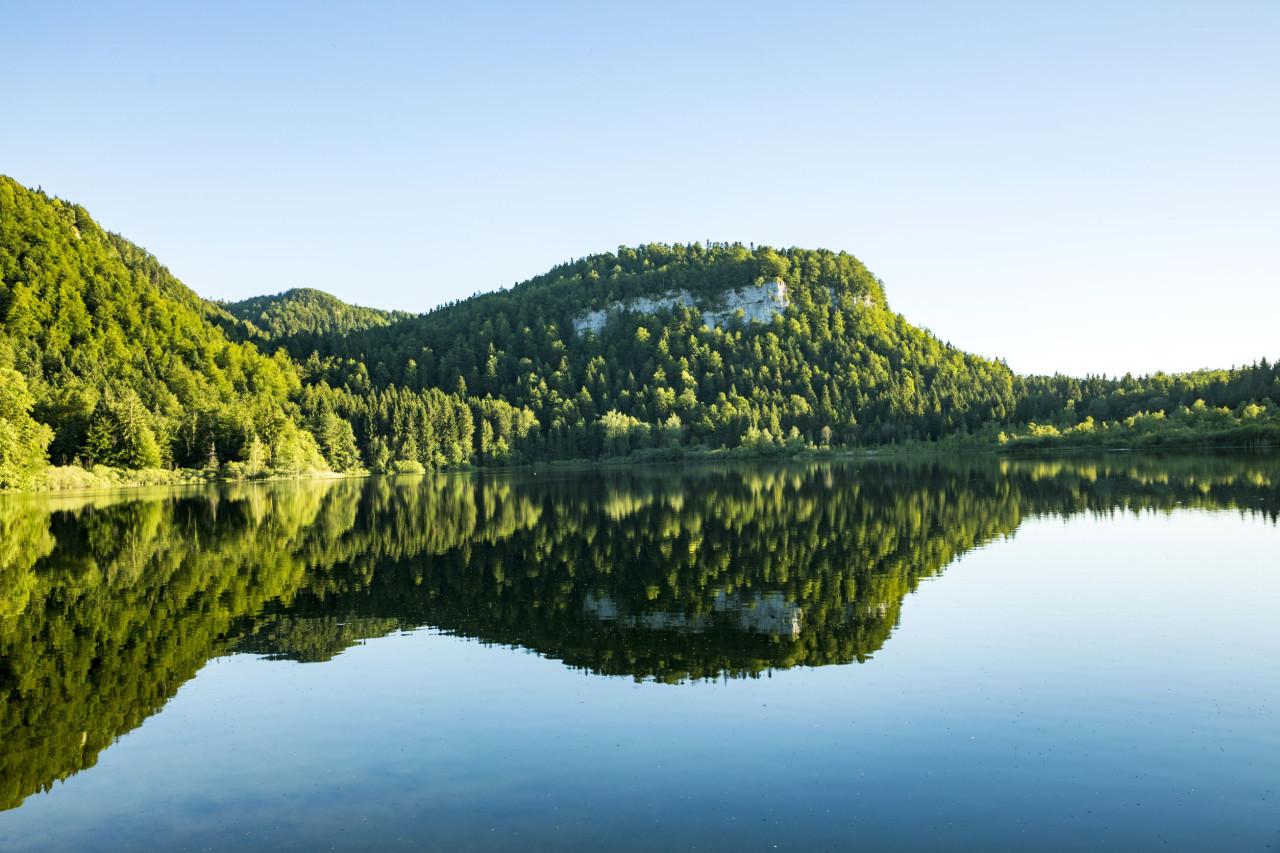 Lac Bonlieu Jura
