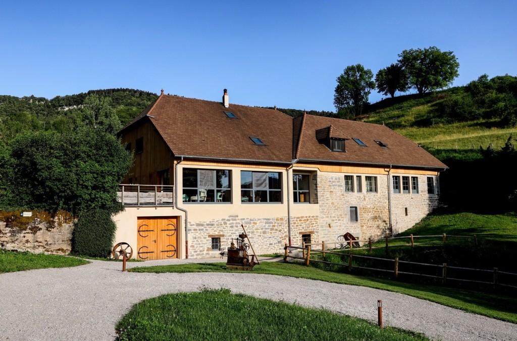 Facade La Scierie Jura