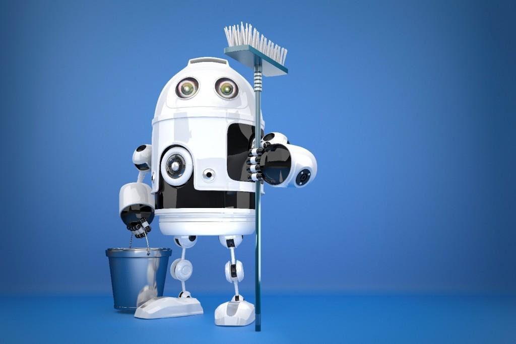 robot avec accessoire